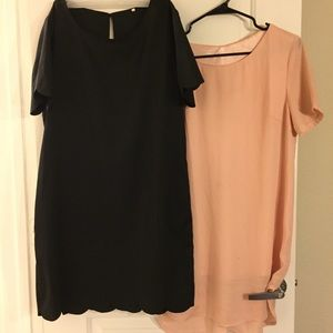 X2 Large Dresses Pink Black